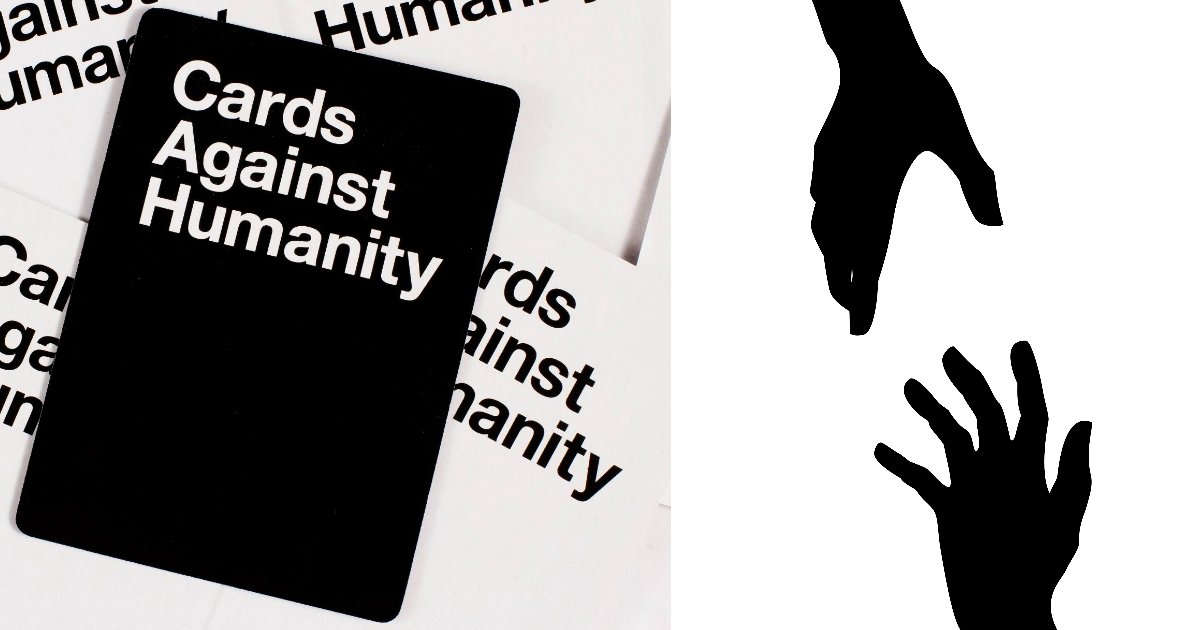 helping - Cards Against Humanity Battle Wealth Inequality