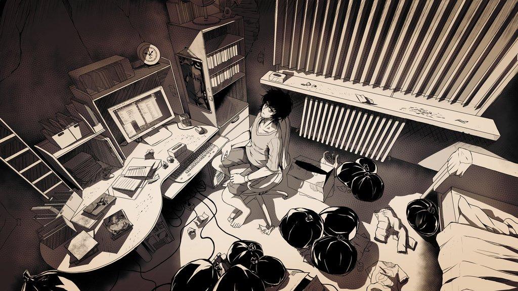 hikikomori by 1gorman d7qohey.jpg?resize=1200,630 - Hikikomori: a doença que faz milhares de jovens se isolarem em casa