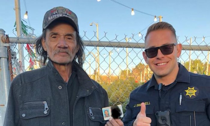 homeless.png?resize=412,232 - Cop Helps Homeless Get An ID Instead Of Issuing Citation For Panhandling