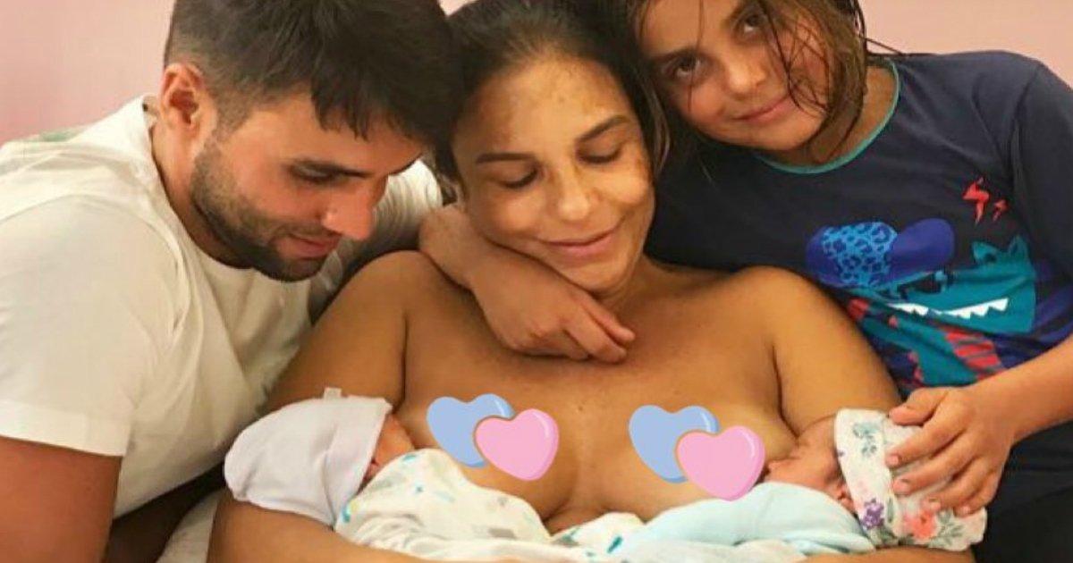 """ivetesss.jpg?resize=300,169 - Ivete Sangalo posta foto amamentando as filhas: """"Confesso que estou no mais pleno momento da minha vida!"""""""
