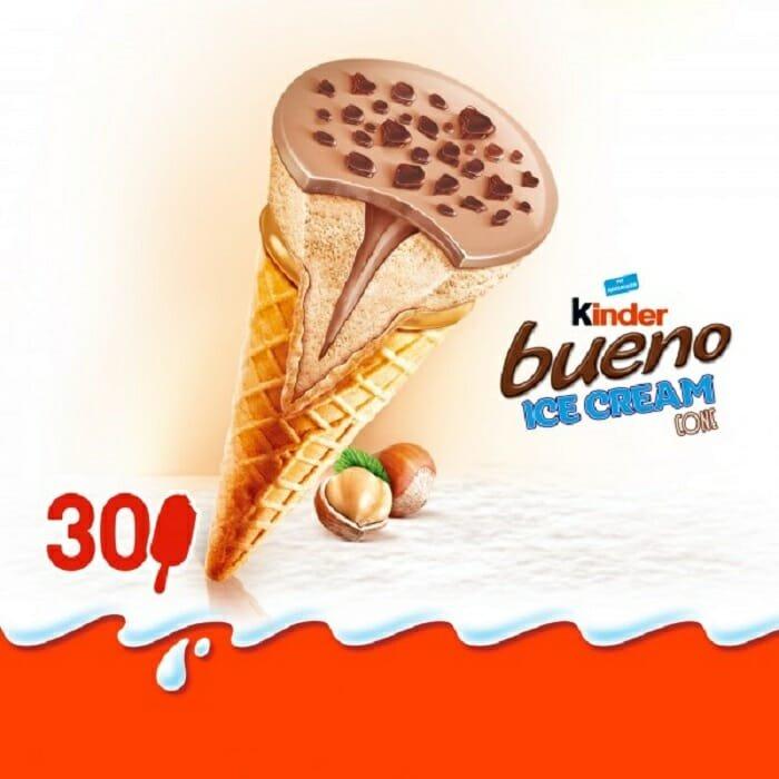 kinder 1 300x300 - Chocólatras se preparem: Vem ai o sorvete de Kinder Bueno!