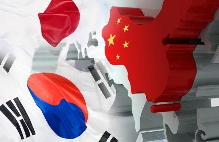 「日本と中国・韓国」の画像検索結果