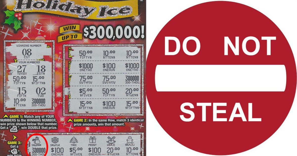 lotto 1 - Best Friend Steals $300,000 Lotto Ticket And Disappears