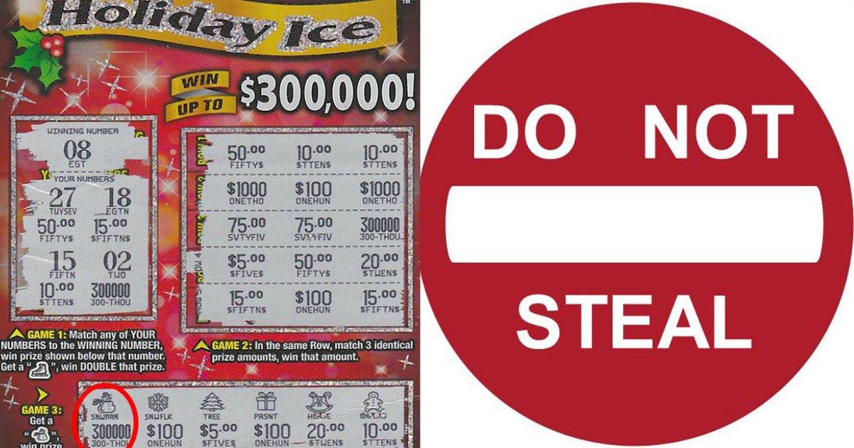 lotto 1 - Melhor amiga rouba bilhete de loteria de $ 300.000 e desaparece