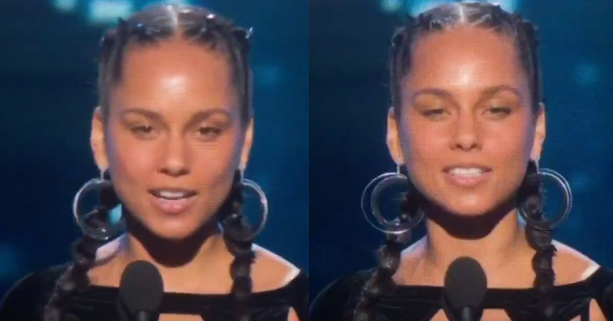 mainphoto aliciakeys - Alicia Keys est sublime sans maquillage aux Grammys 2018