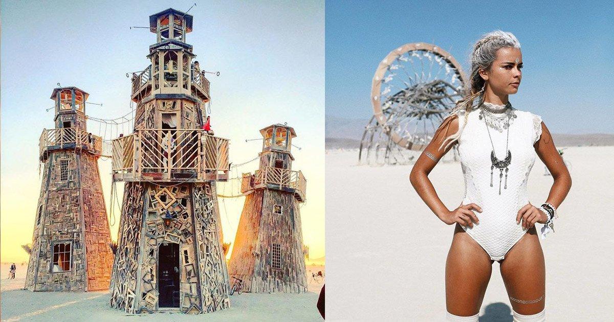 mainphoto burningman.jpeg?resize=1200,630 - [Photos] Burning Man 2017 : ce festival pas comme les autres