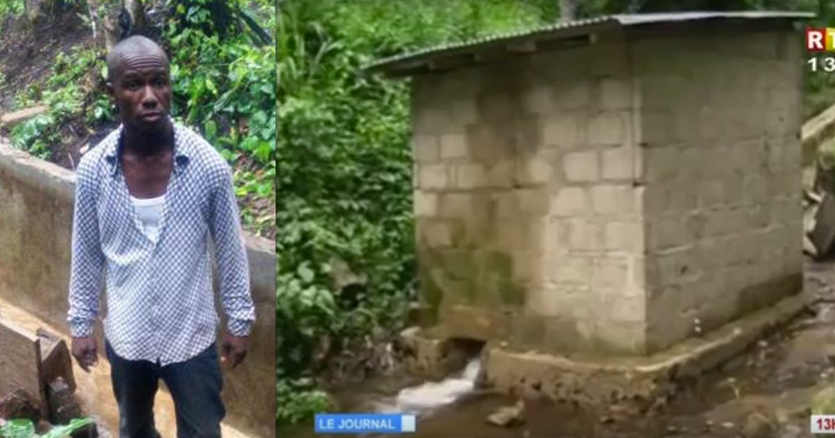 mainphoto electricite - En Guinée, cet homme apprend à construire une centrale hydroélectrique et apporte l'électricité à son village