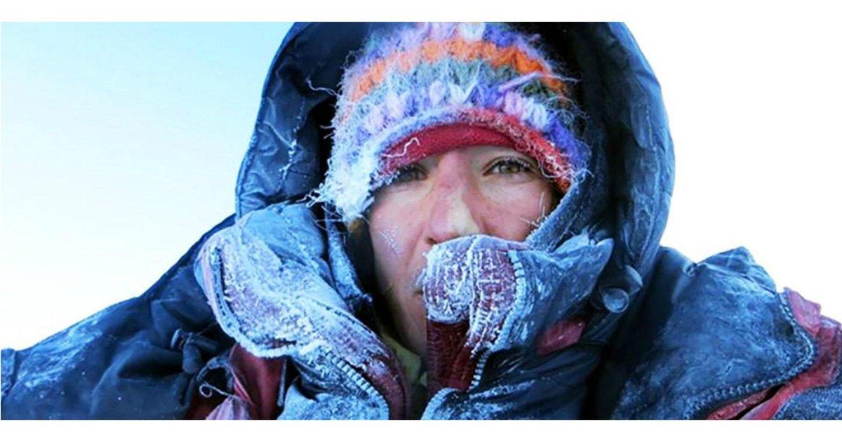 """mainphoto elisabeth revol - L'alpiniste Elisabeth Revol revient sur son sauvetage in extremis sur la """"montagne tueuse"""""""