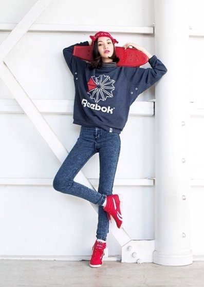 Image result for 水原希子 私服 KENZO