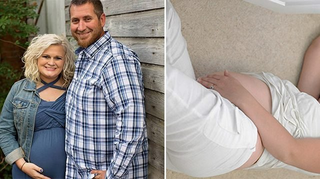 Man returns from walk, hears strange noise upstairs—finds pregnant wife on floor unresponsive