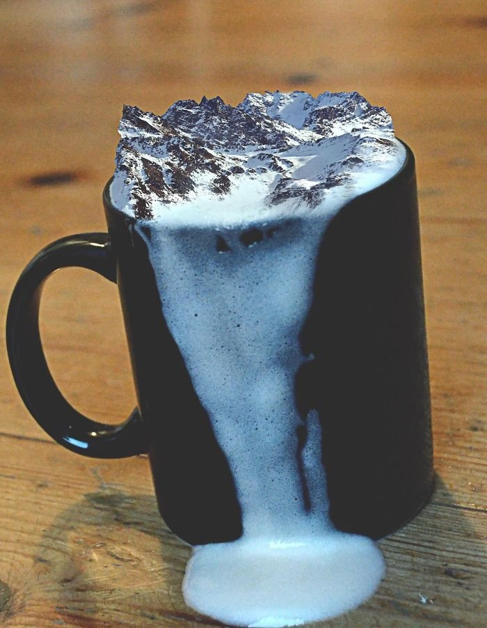 A Mountain Latte Please