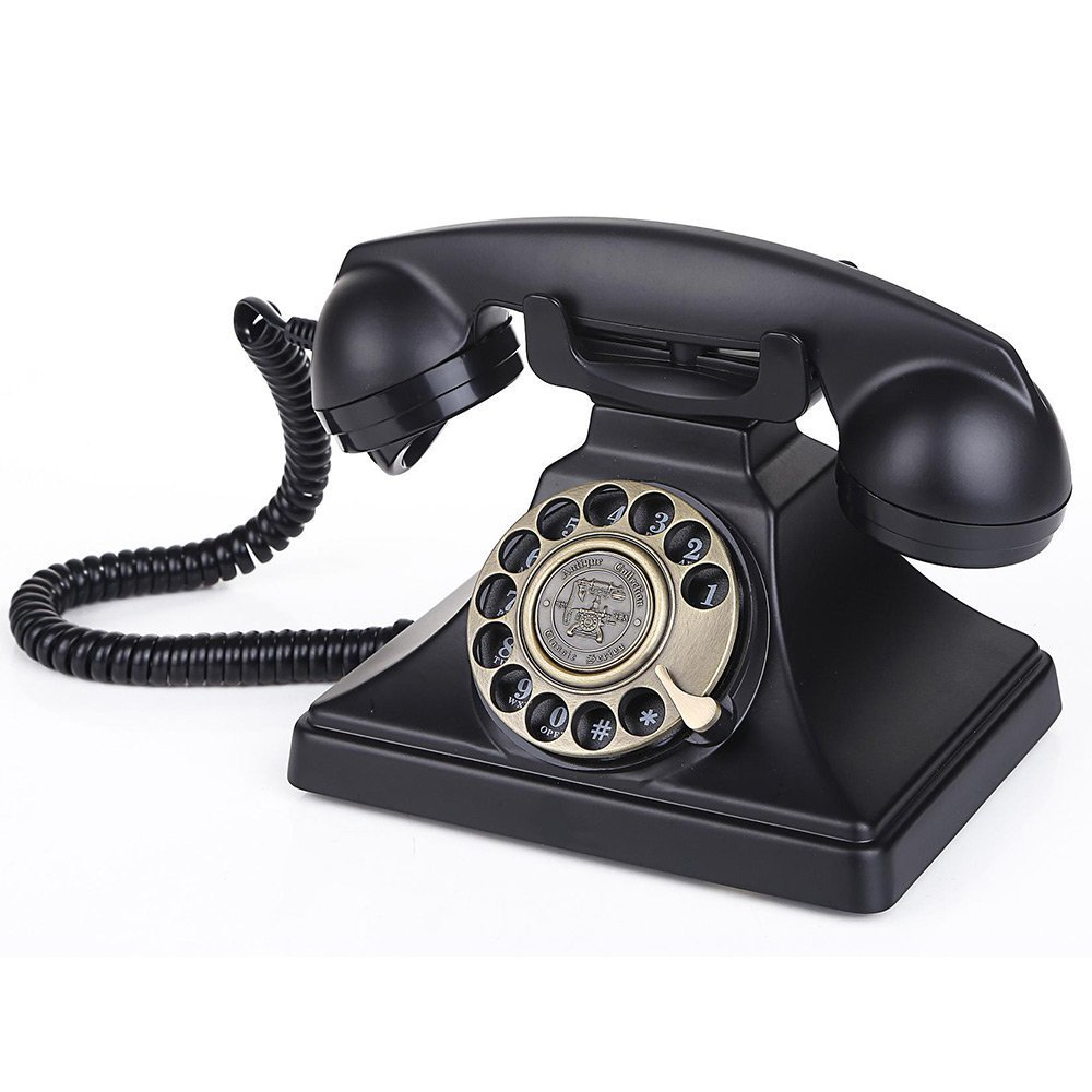 old school technology 61cgzVafIfL. SL1000  - Rotary Dial Telephone, A Mystery For Teen