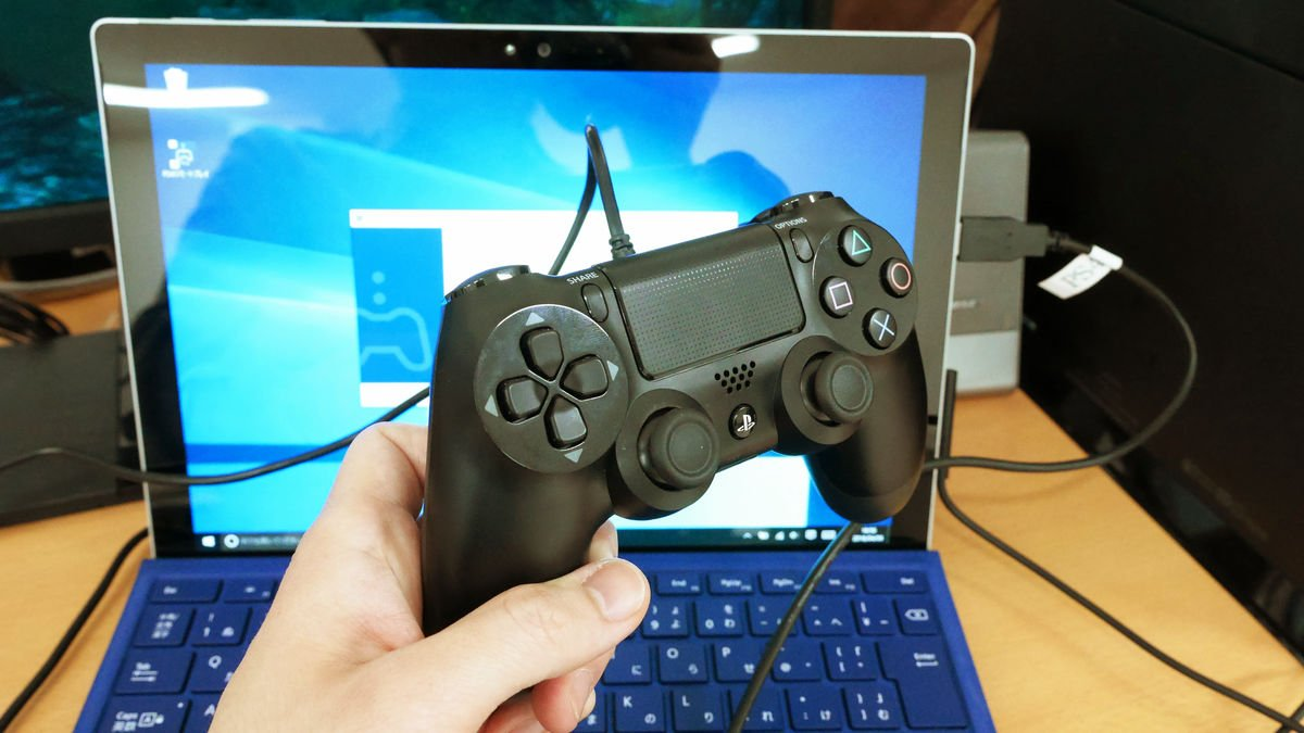 ps4 connect the controller to the pc P3550623 - PS4コントローラーをPCに接続して使う方法まとめ