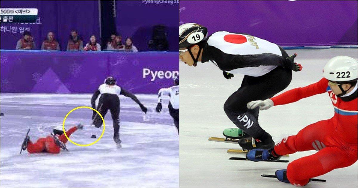 s 55 - 넘어지면서 일본 선수의 다리를 두 번이나 잡아챈 정광범