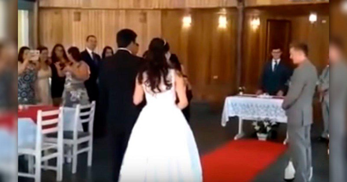 sadaaa.png?resize=648,365 - Una boda fue interrumpida en Brasil por que se empezaron a escuchar gemidos