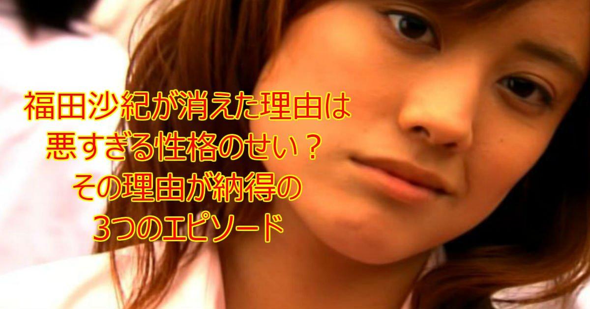 saki.jpg?resize=648,365 - 福田沙紀が消えた理由が納得の3つのエピソード
