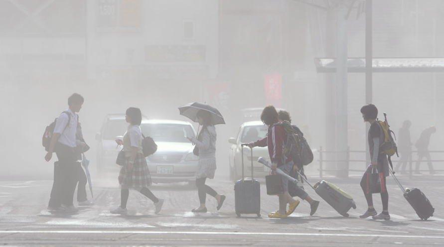 「桜島 火山灰」の画像検索結果