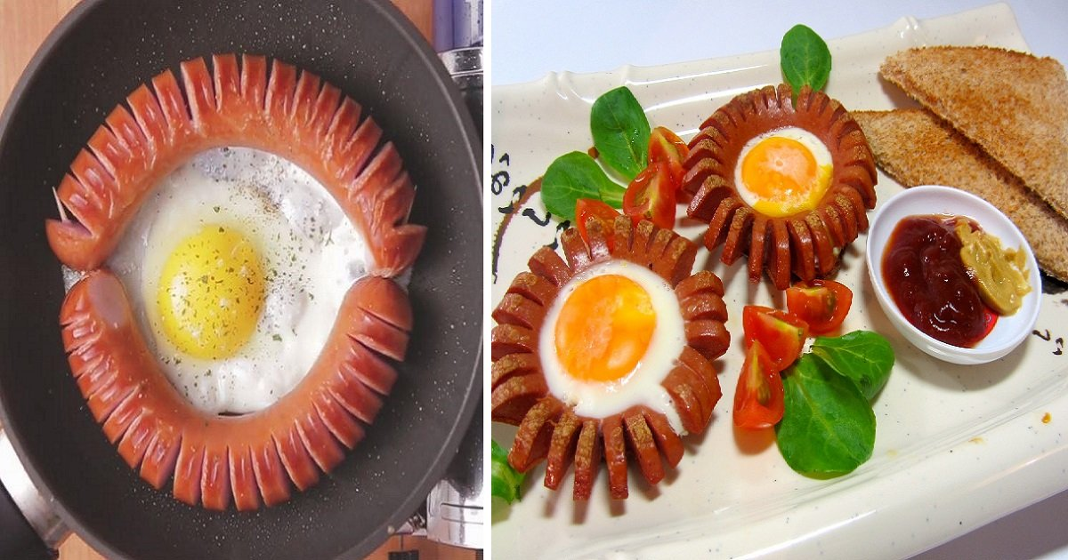 sausage1 1 - Egg Centered Sausages For Your Weekend Getaway