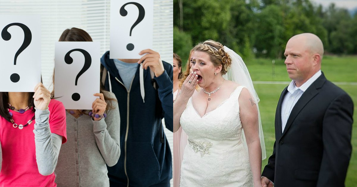 secretguests - Special Wedding Guests Surprises Bride And Groom, Who Could They Possibly Be?