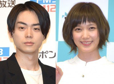 Image result for 菅田将暉さんと本田翼さ