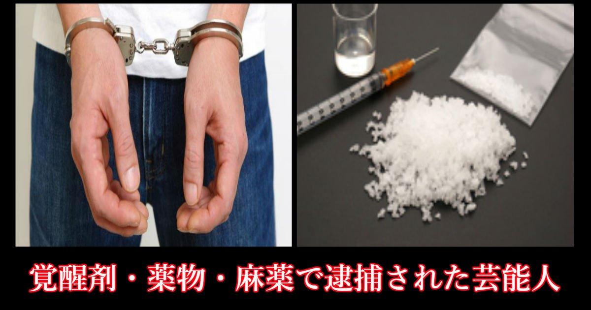 taima - 覚醒剤・薬物・麻薬で逮捕された芸能人まとめ