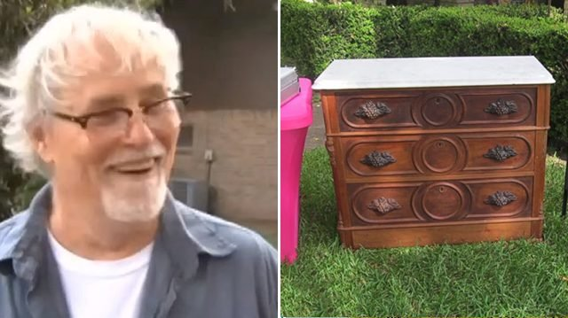 Vet buys 125-yr-old chest for 0—shocked, when he discovers 'secret' drawer at the bottom
