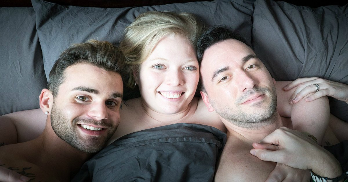 throuple.jpg?resize=412,232 - Man And His Husband Are Both In A Relationship With A Woman