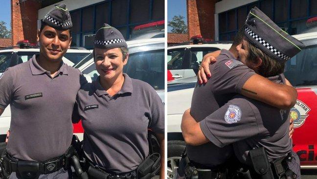 thumbnail5guut.jpg?resize=1200,630 - Policial descobre que garoto que ela salvou há 20 anos atrás é seu colega
