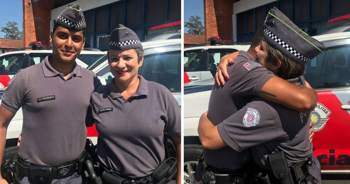 thumbnail5guut.png?resize=648,365 - Garoto é salvo por policial aos 4 anos e 19 anos depois eles se reencontram na mesma profissão
