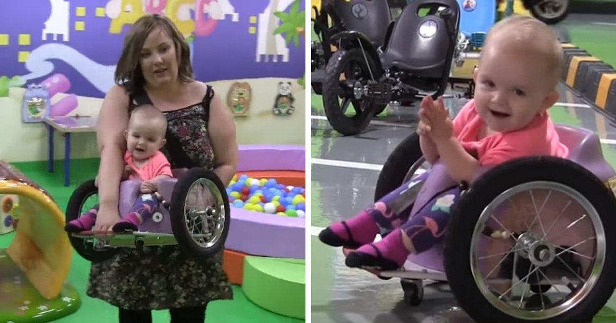 thumbnail5gwr.png?resize=1200,630 - Pais constroem sozinhos uma cadeira de rodas para a filha de 7 meses através de um tutorial na internet