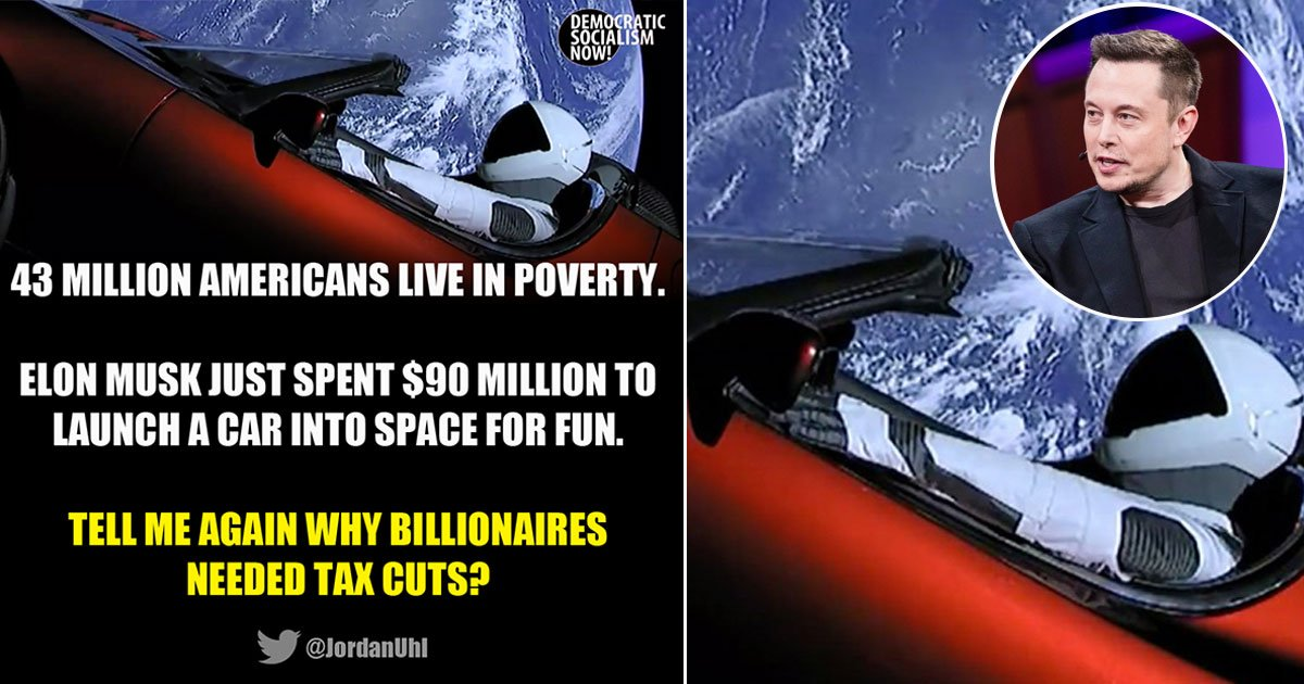 untitled 1 34 - A Meme Was Posted Criticizing Elon Musk For Spending $90M To Launch A Car Into Space, People Brutally Slammed The Post