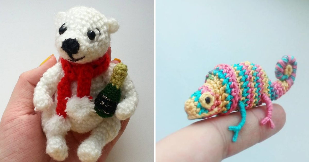 untitled 1 6 - These Tiny Crochet Chameleons Will Be The Most Beautiful Thing You'll See Today