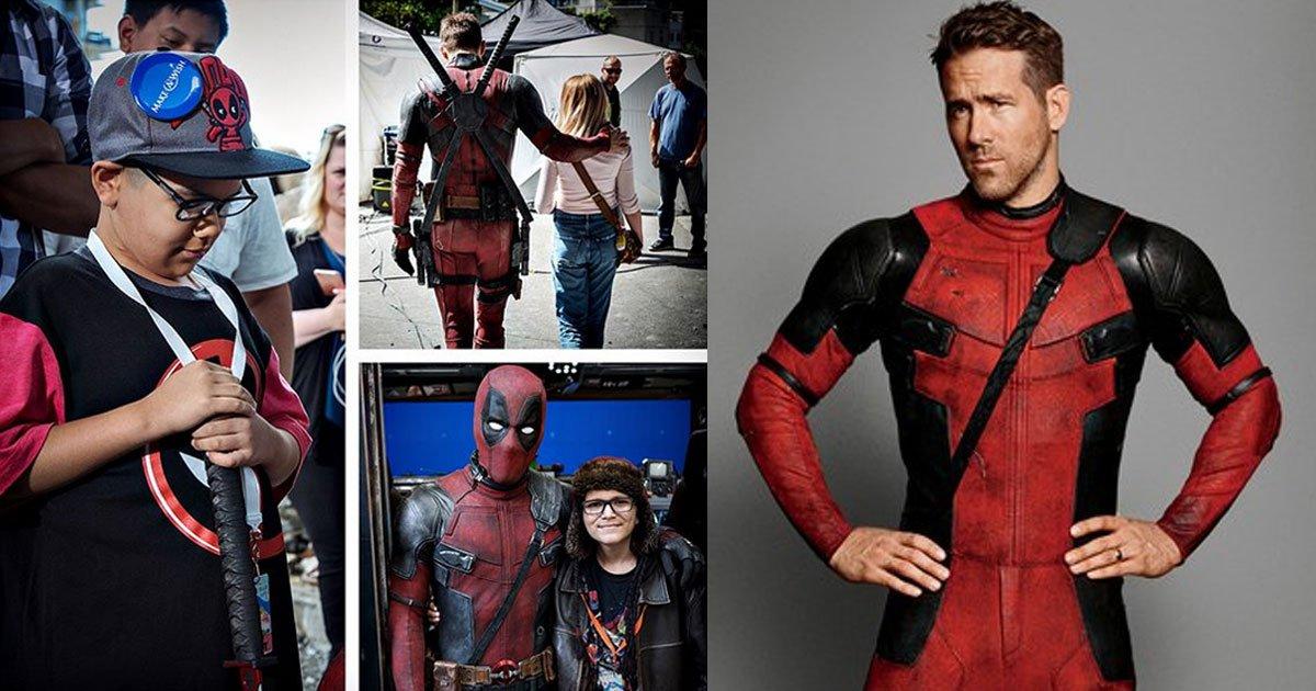 untitled 2 1.jpg?resize=1200,630 - Des enfants malades sur le plateau de Deadpool 2 : Ryan Reynolds répond à la critique