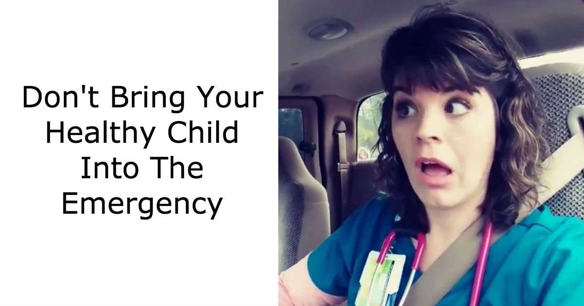 """untitled 43.jpg?resize=1200,630 - Nurse Warns Parents To Not To Bring Their Kids To The ER. She Calls It """"A Cesspool Of Funky Flu""""."""