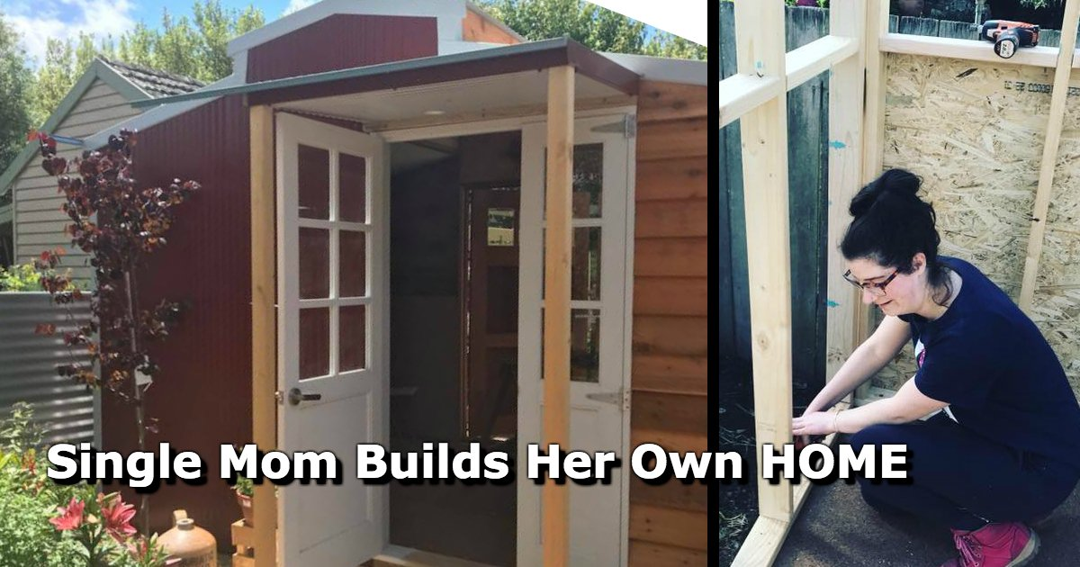 untitled 68 - Instead Of Having $300,000 In Mortgages, A Single Mom Chose To Construct Her Home With $10,000