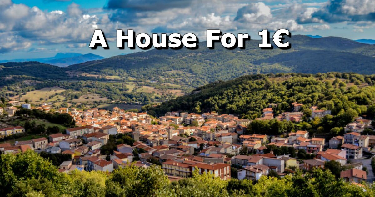untitled 69 - Believe It Or Not, A House In Italy Can Be Yours For Just A Little Over A Dollar