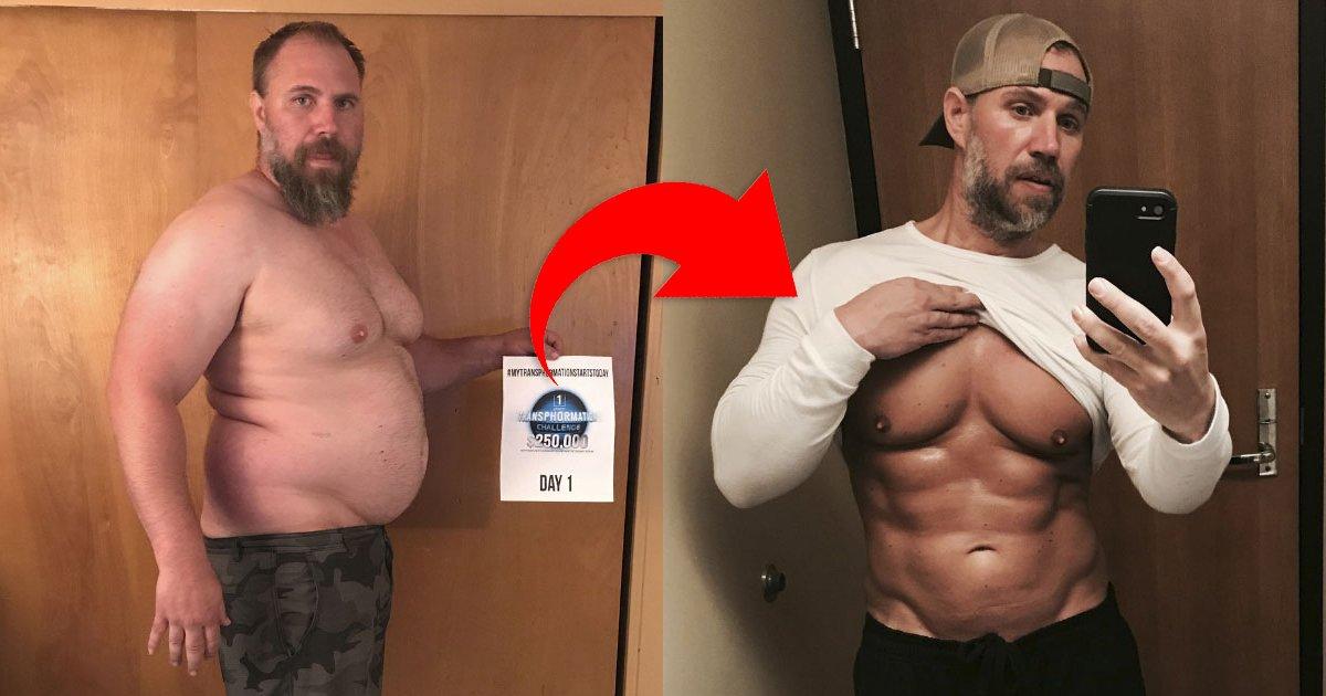 untitled copy.jpg?resize=1200,630 - Un père décide de perdre ses kilos en trop pour ses enfants