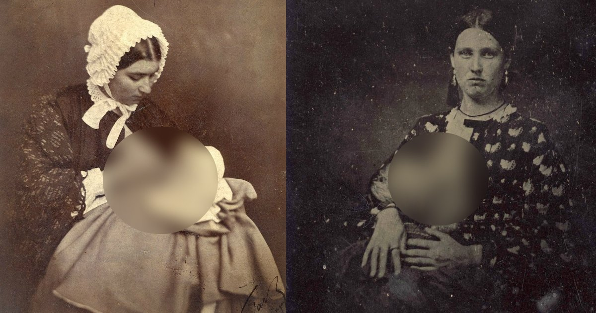 victorianera - They Weren't Ashamed Of Breastfeeding In Public Back In Mid 1800s
