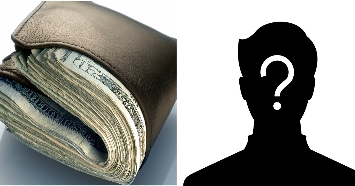 wallet - Stranger Finds Wallet Containing Over $2200