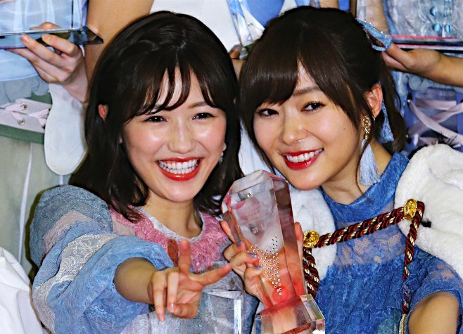 Image result for 渡辺麻友 指原莉乃