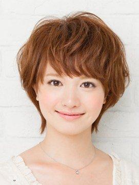 まる顔 ショートヘア에 대한 이미지 검색결과