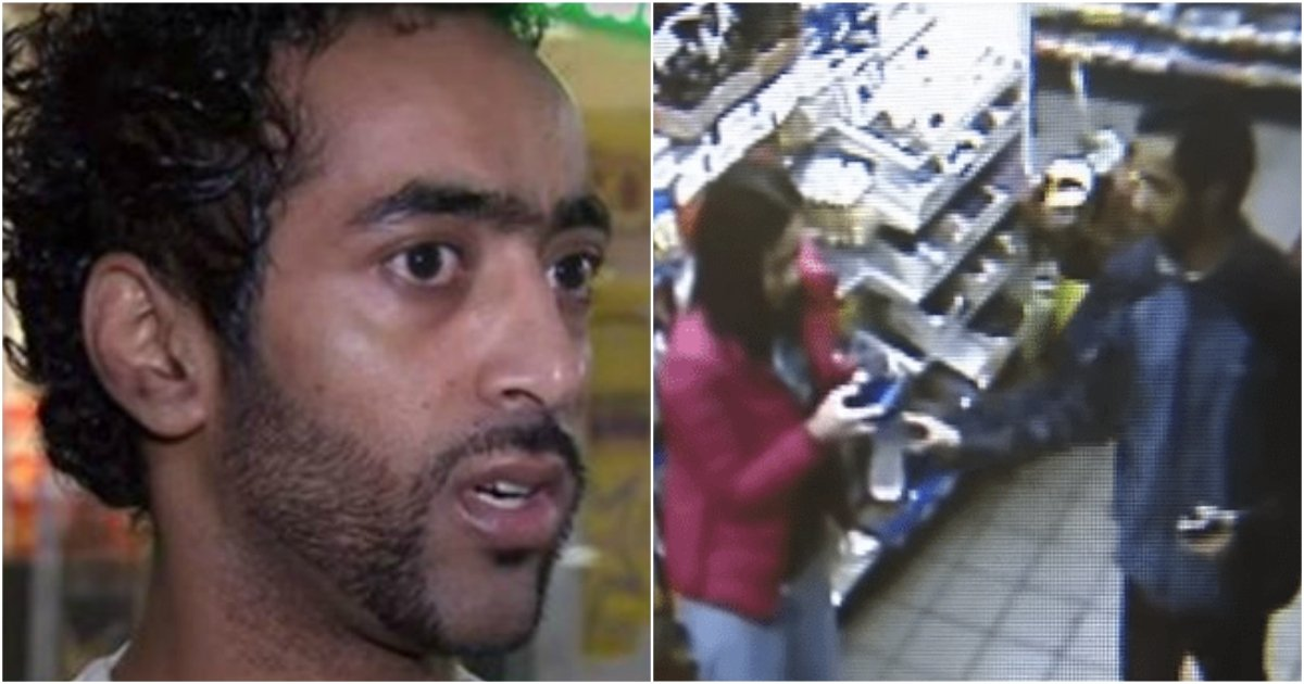 1 281 - Gas Station Employee Feels Something Is Off As He Notices A Man With A Trembling Woman, His Quick-Thinking Saves The Woman