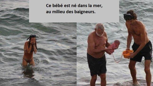 1 312 1.jpg?resize=300,169 - Images de naissance aquatique incroyable : une touriste russe donne naissance à son bébé dans... la mer rouge