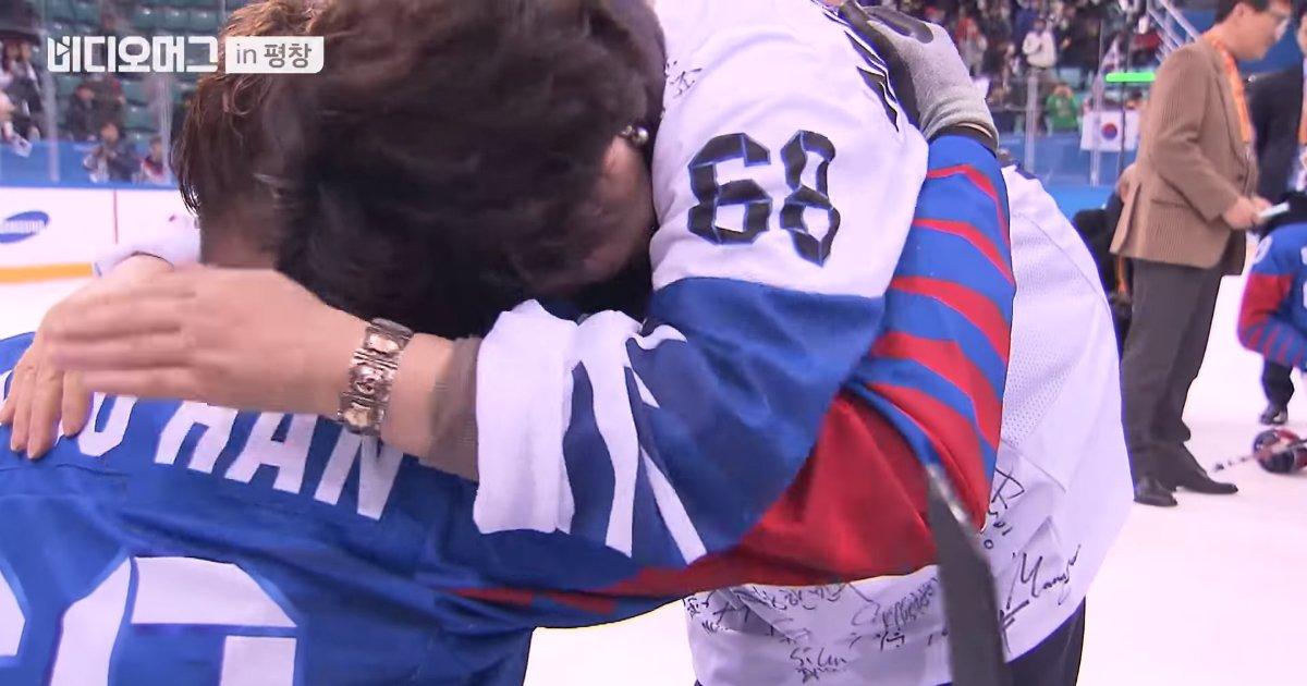 1 318 - 패럴림픽 '동메달' 선수 끌어안은채 '펑펑' 오열한 김정숙 여사 (영상)