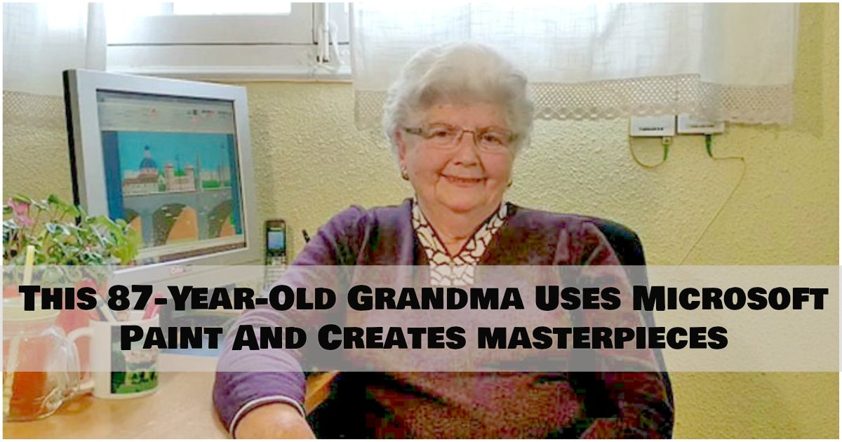 1 366.jpg?resize=300,169 - What This 87-Year-Old Grandma Creates Using Microsoft Paint Will Leave You Amazed