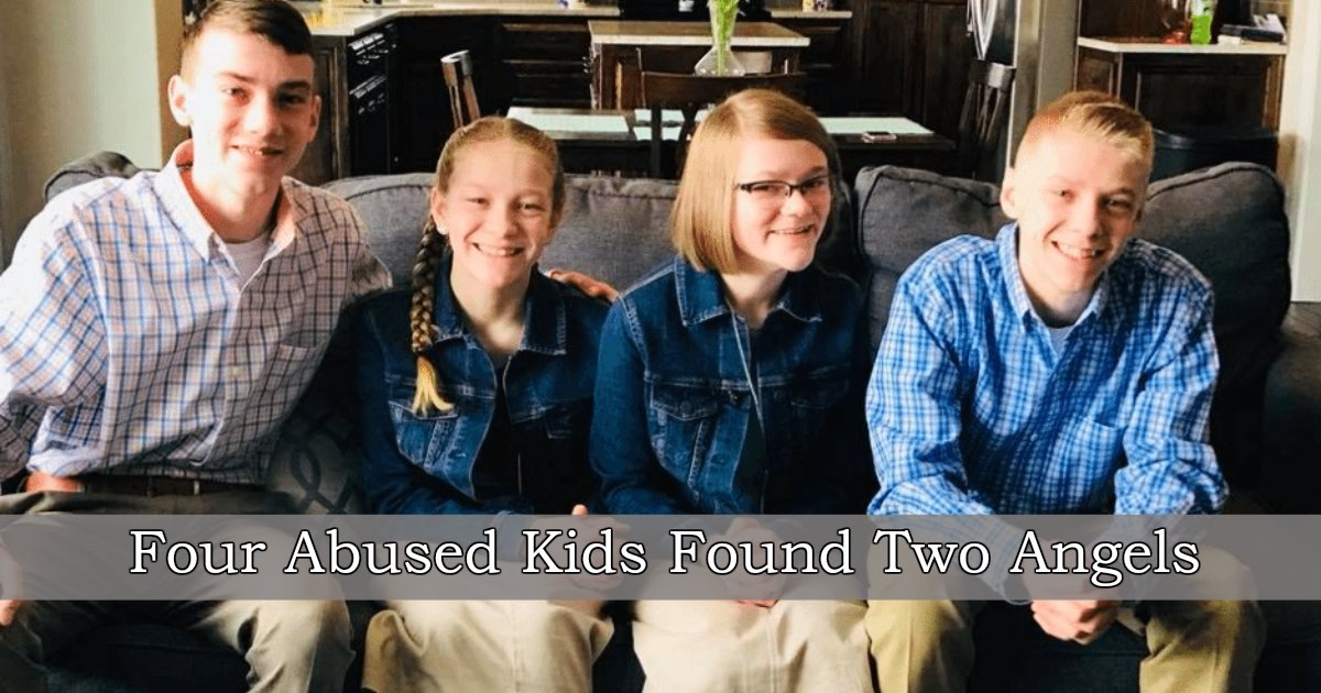 1 406.jpg?resize=300,169 - Four Abused Siblings Were Told They Would Have To Be Split Up, Then A Miracle Happened That Changed Their Lives