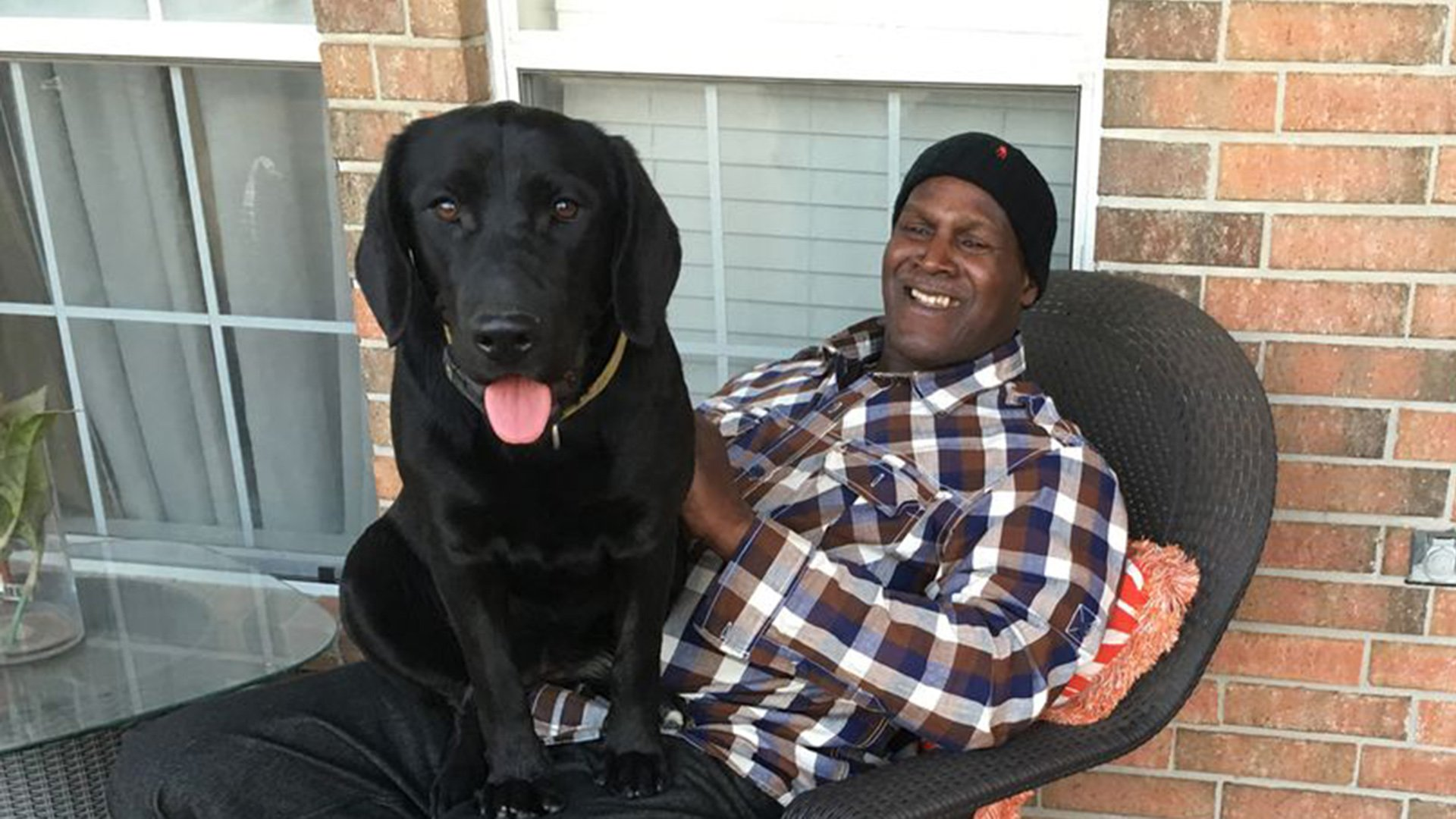 1 84 - Exculpated After 38 Years, Innocent Man Leaves Lock-Up With The Dog He Raised