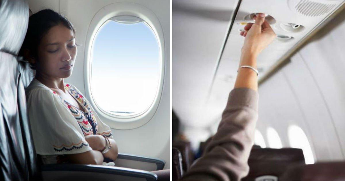 1324132.jpg?resize=300,169 - 아무리 추워도 '비행기' 좌석 위 '에어컨 송풍구' 끄면 안 되는 이유