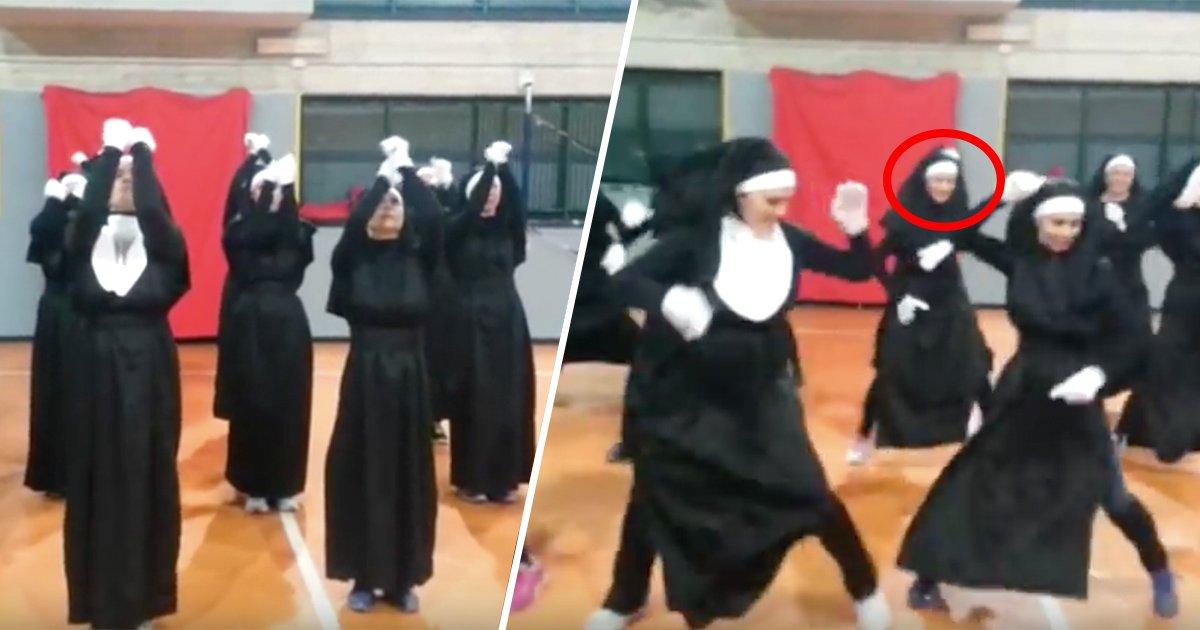 1ec8db8eb84ac 17.jpg?resize=1200,630 - [Vidéo] Ces véritables religieuses rendent hommage à Sister Act en dansant!