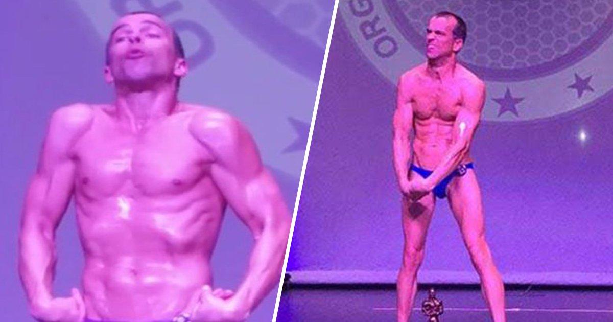 1ec8db8eb84ac 20 - Homem com paralisia cerebral participa de competição de fisiculturismo e sua dedicação é de impressionar!